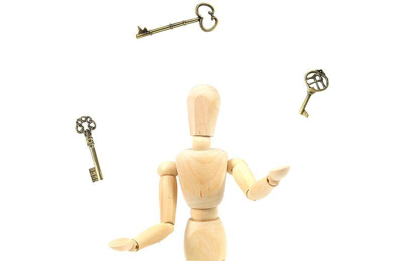 Juggling Keys